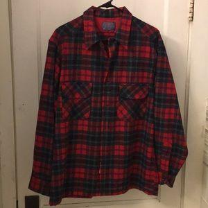 Pendleton wool shirt. Large, Mac Lean Tartan. EUC